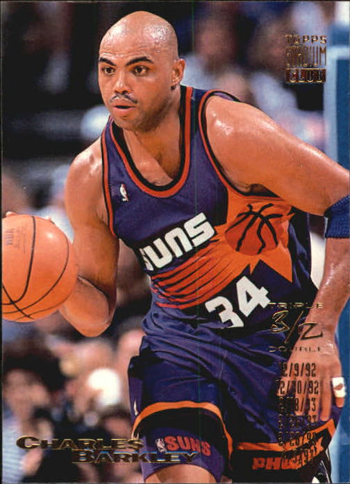 1993-94 Stadium Club #110 Charles Barkley TD