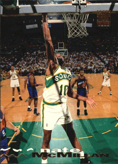 1993-94 Stadium Club #115 Nate McMillan