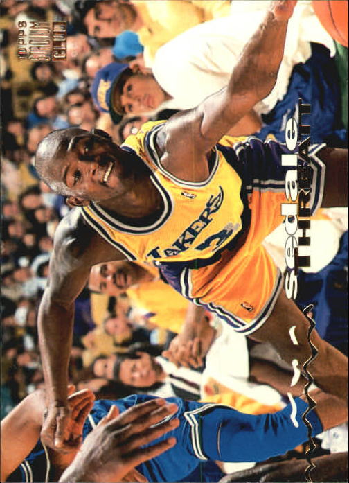 1993-94 Stadium Club #133 Sedale Threatt