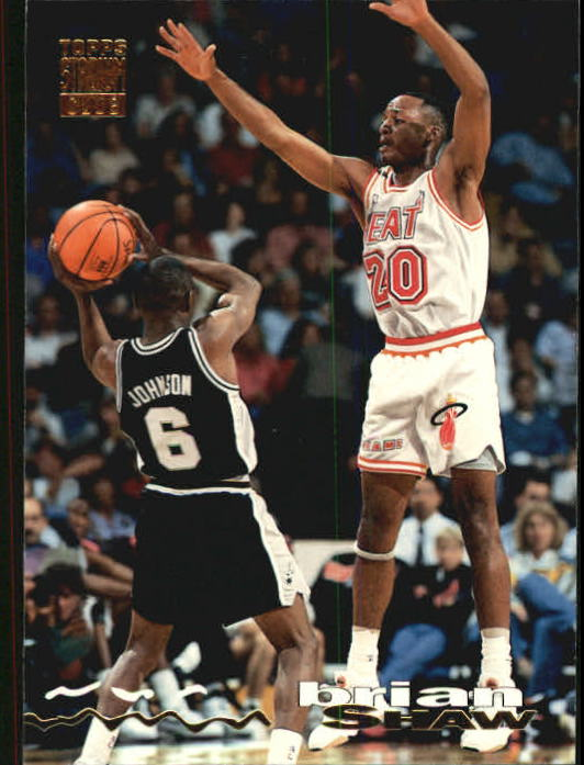 1993-94 Stadium Club #134 Brian Shaw
