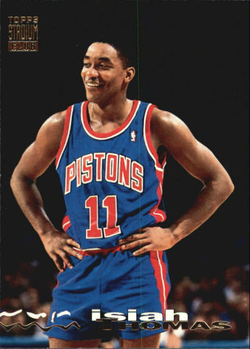 1993-94 Stadium Club #149 Isiah Thomas