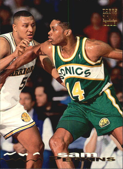 1993-94 Stadium Club #154 Sam Perkins