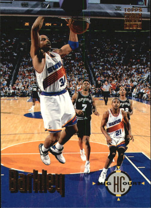 1993-94 Stadium Club #177 Charles Barkley HC
