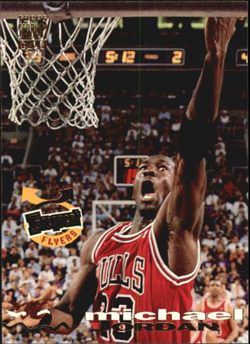 1993-94 Stadium Club #181 Michael Jordan FF