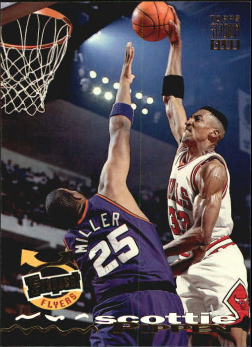 1993-94 Stadium Club #184 Scottie Pippen FF