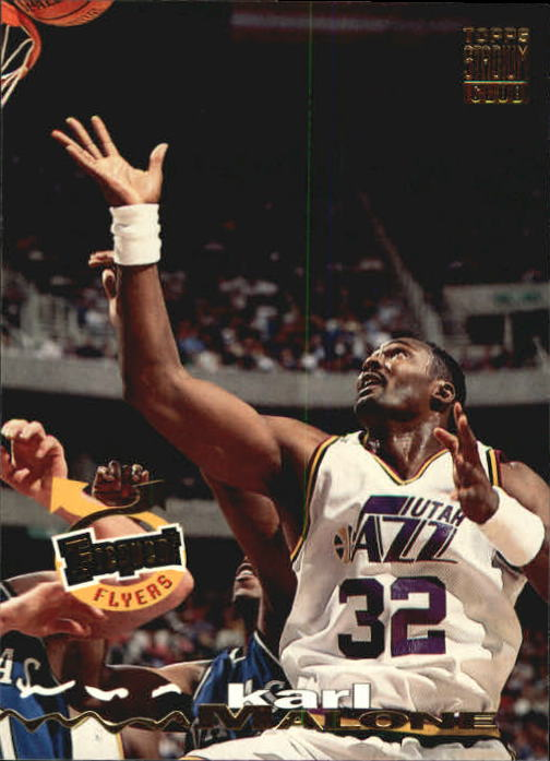 1993-94 Stadium Club #186 Karl Malone FF