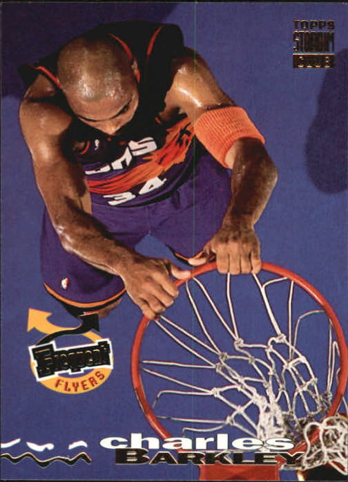 1993-94 Stadium Club #188 Charles Barkley FF