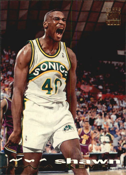 1993-94 Stadium Club #222 Shawn Kemp