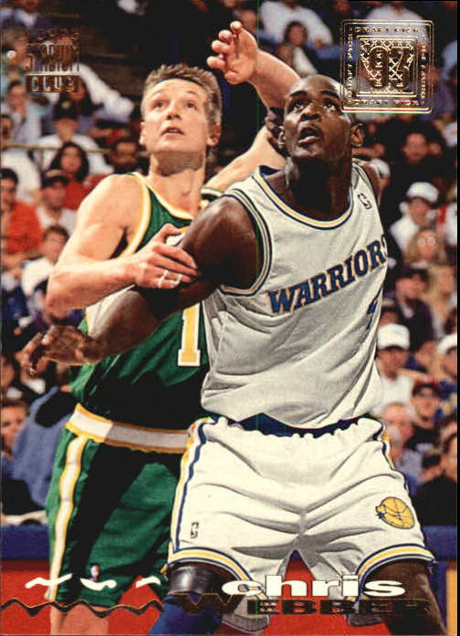 1993-94 Stadium Club #224 Chris Webber RC