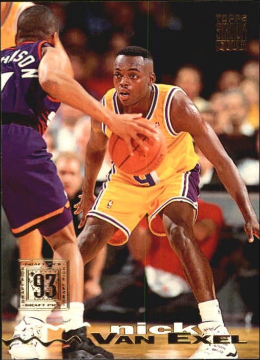 1993-94 Stadium Club #281 Nick Van Exel RC