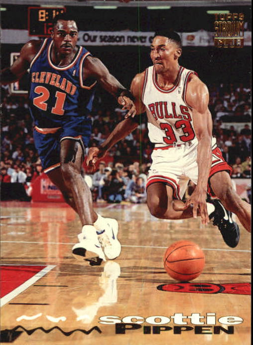 1993-94 Stadium Club #300 Scottie Pippen