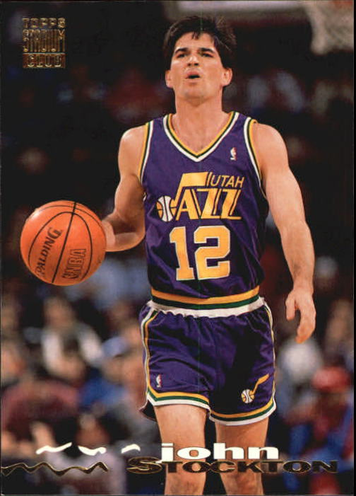 1993-94 Stadium Club #313 John Stockton
