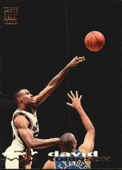 1993-94 Stadium Club #328 David Robinson