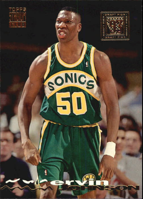 1993-94 Stadium Club #341 Ervin Johnson