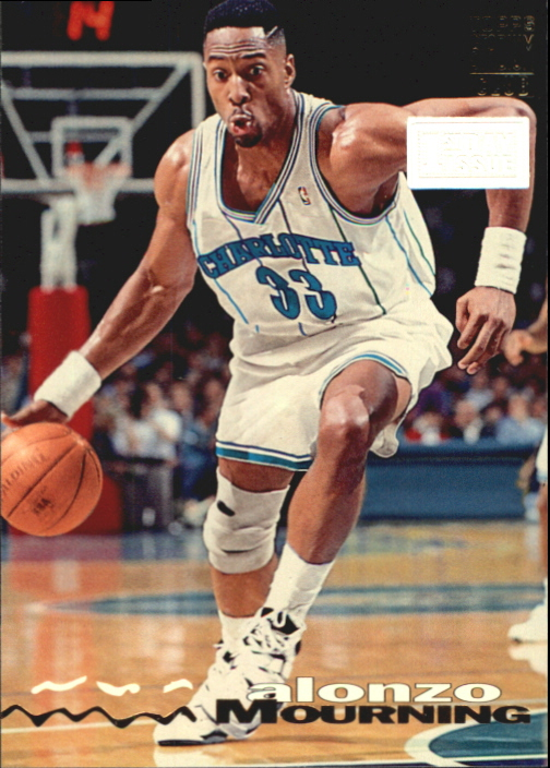 1993-94 Stadium Club First Day Issue #292 Alonzo Mourning
