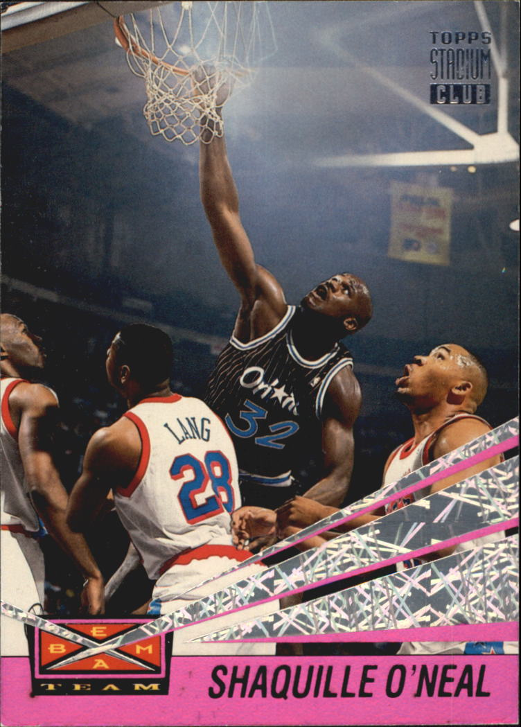 1993-94 Stadium Club Beam Team #1 Shaquille O'Neal