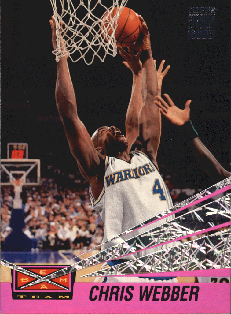 1993-94 Stadium Club Beam Team #21 Chris Webber