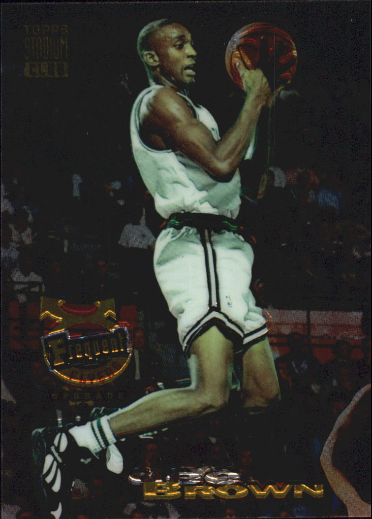 1993-94 Stadium Club Frequent Flyer Upgrades #349 Dee Brown
