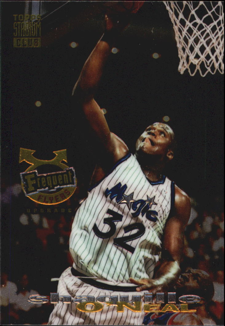 1993-94 Stadium Club Frequent Flyer Upgrades #358 Shaquille O'Neal
