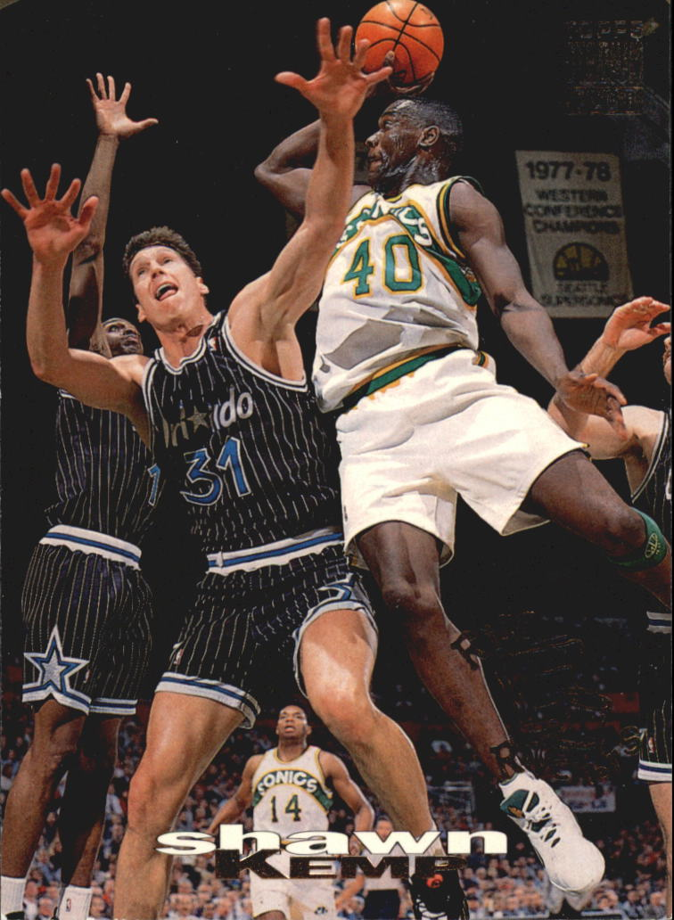 1993-94 Stadium Club Rim Rockers #5 Shawn Kemp