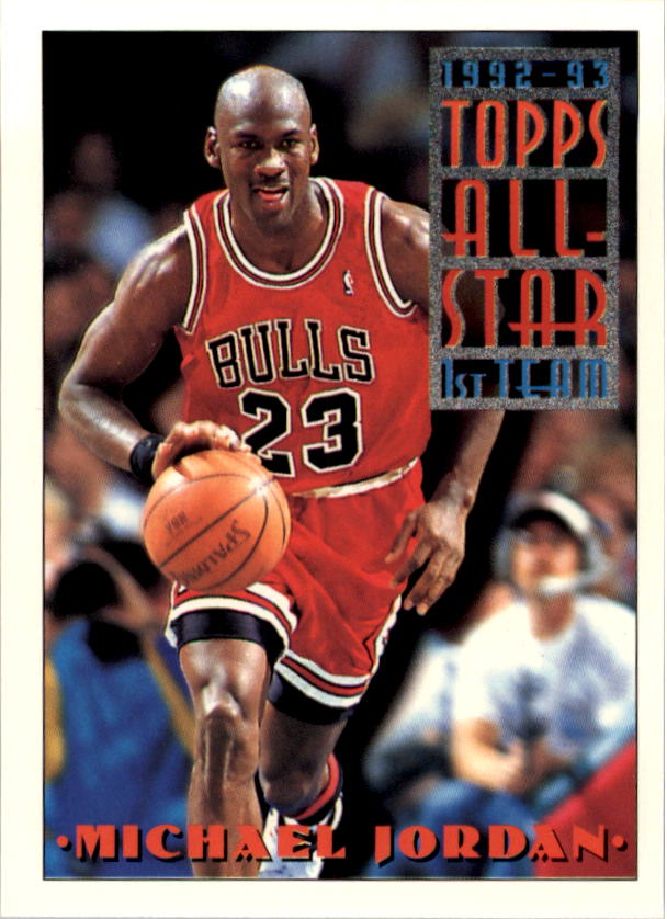 1993-94 Topps #101 Michael Jordan AS