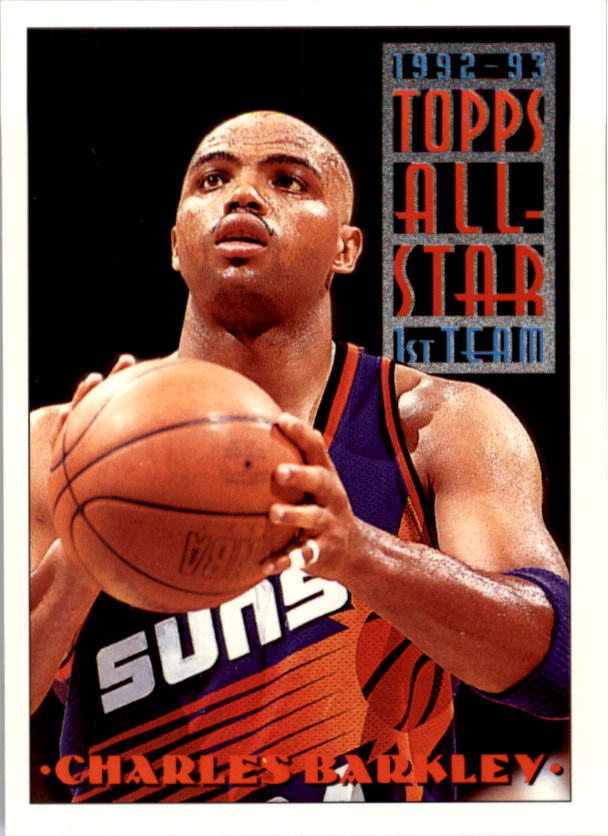 1993-94 Topps #104 Charles Barkley AS