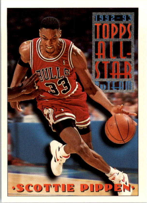 1993-94 Topps #117 Scottie Pippen AS