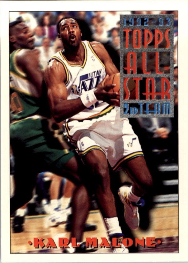 1993-94 Topps #119 Karl Malone AS