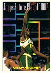 1993-94 Topps #202 Shawn Kemp FPM
