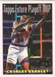 1993-94 Topps #204 Charles Barkley FPM