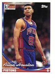 1993-94 Topps #261 Allan Houston RC