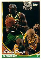 1993-94 Topps #296 Shawn Kemp