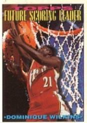 1993-94 Topps #392 Dominique Wilkins FSL