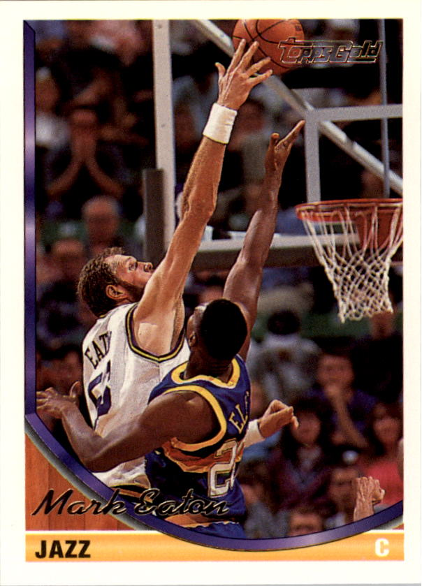 1993-94 Topps Gold #19G Mark Eaton