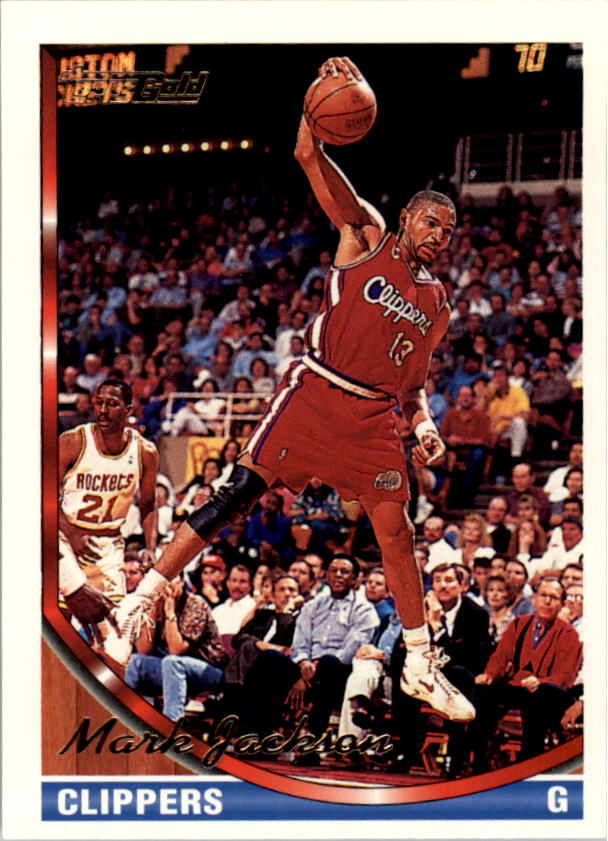 1993-94 Topps Gold #20G Mark Jackson
