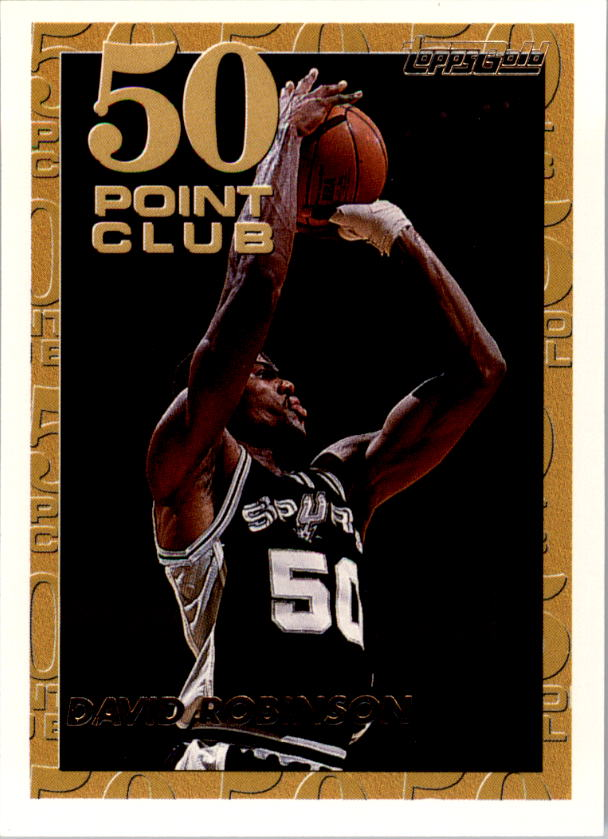 1993-94 Topps Gold #52G David Robinson 50P
