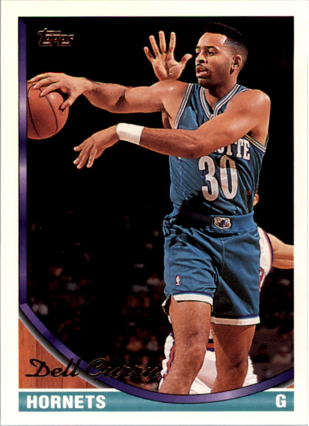 1993-94 Topps Gold #70G Dell Curry