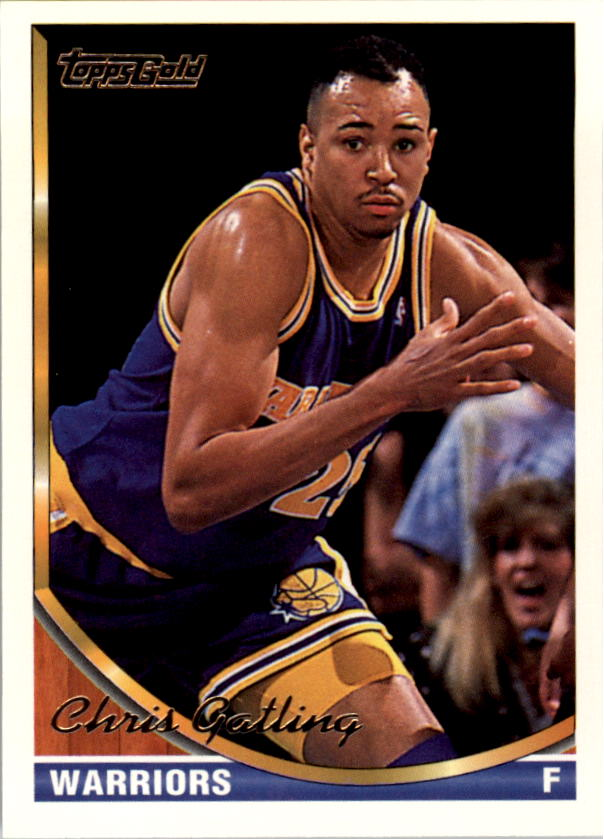 1993-94 Topps Gold #79G Chris Gatling