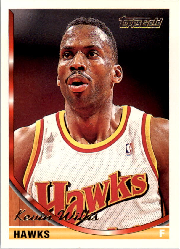 1993-94 Topps Gold #81G Kevin Willis