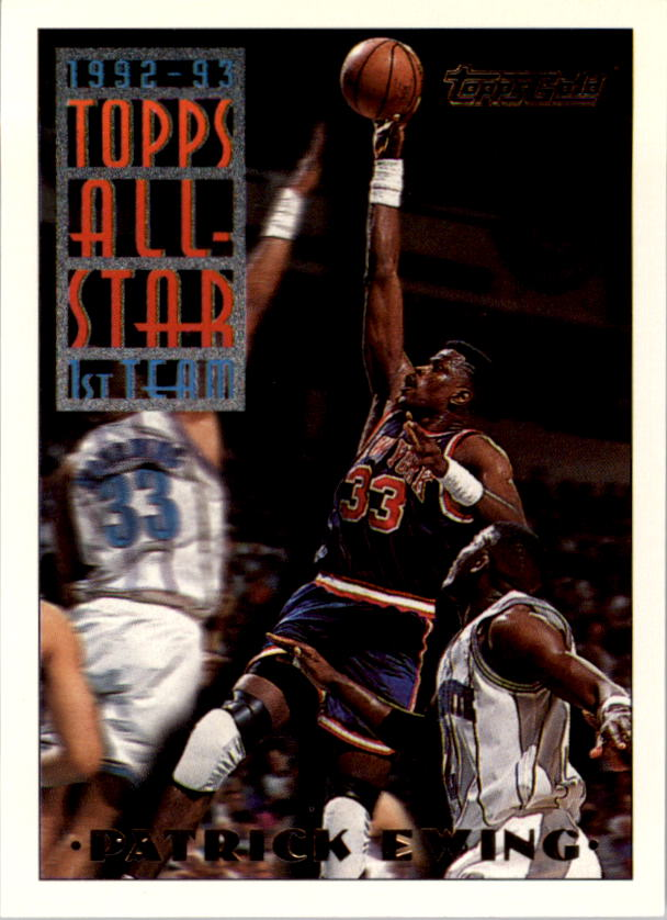 1993-94 Topps Gold #100 Patrick Ewing AS