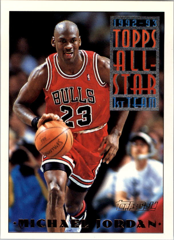 1993-94 Topps Gold #101G Michael Jordan AS