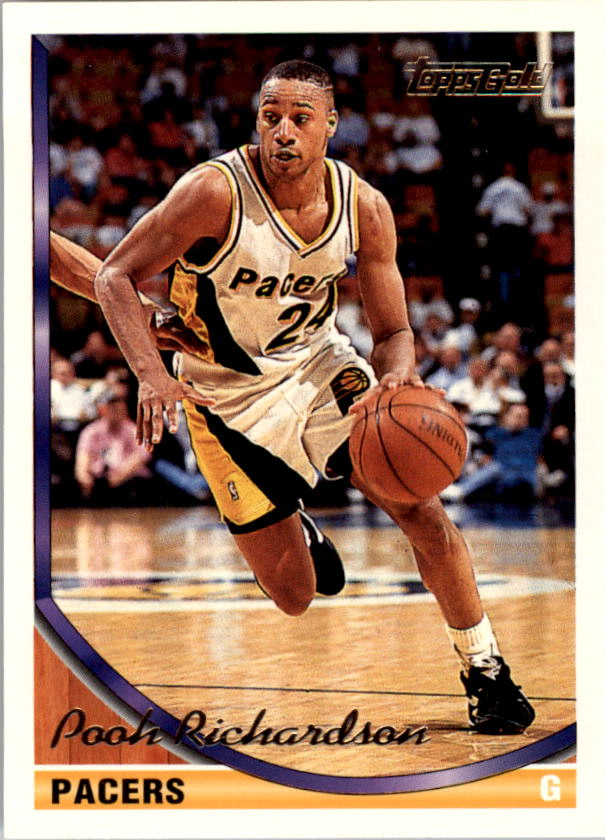 1993-94 Topps Gold #110G Pooh Richardson