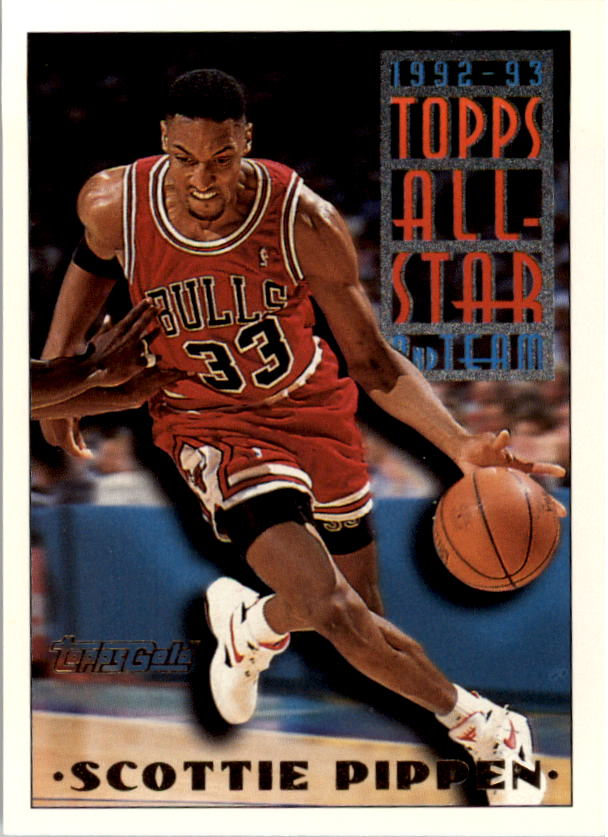 1993-94 Topps Gold #117G Scottie Pippen AS front image