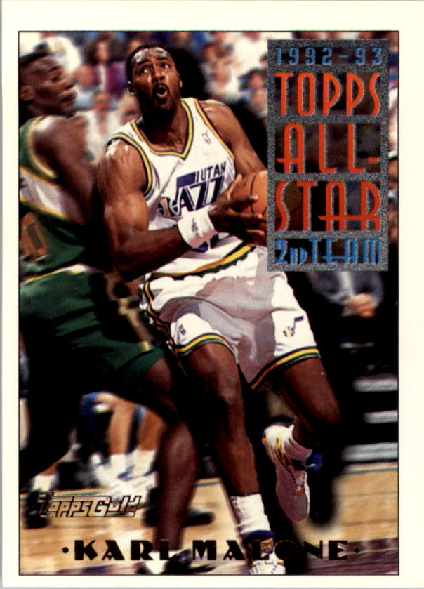 1993-94 Topps Gold #119G Karl Malone AS
