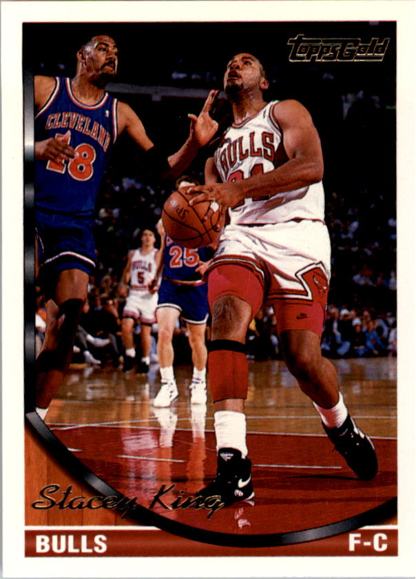 1993-94 Topps Gold #128G Stacey King