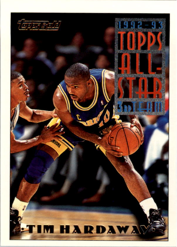 1993-94 Topps Gold #130G Tim Hardaway AS