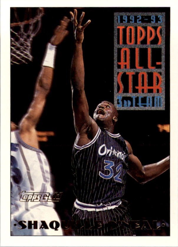 1993-94 Topps Gold #134G Shaquille O'Neal AS