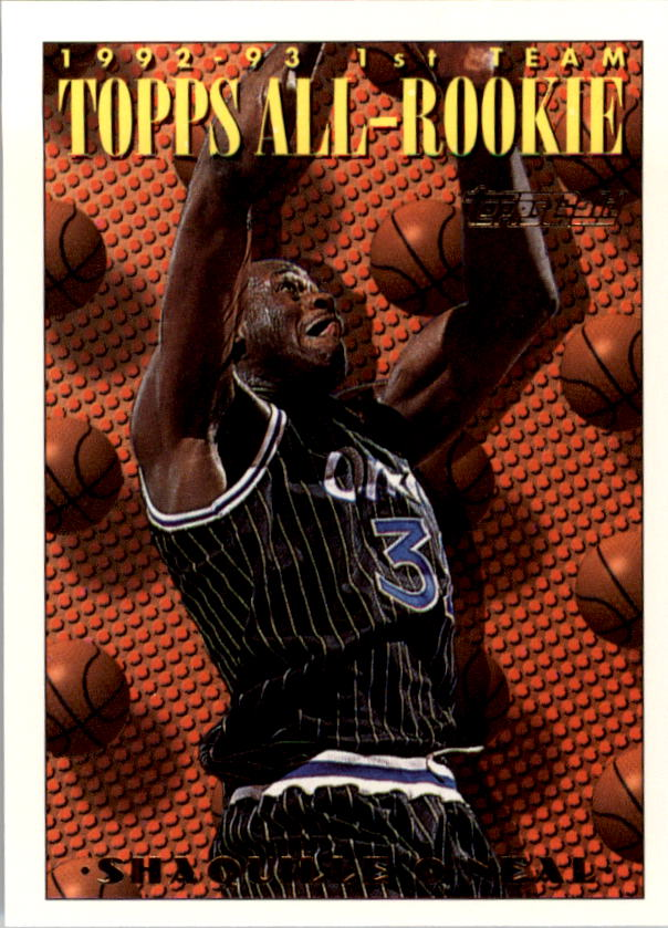 1993-94 Topps Gold #152 Shaquille O'Neal ART