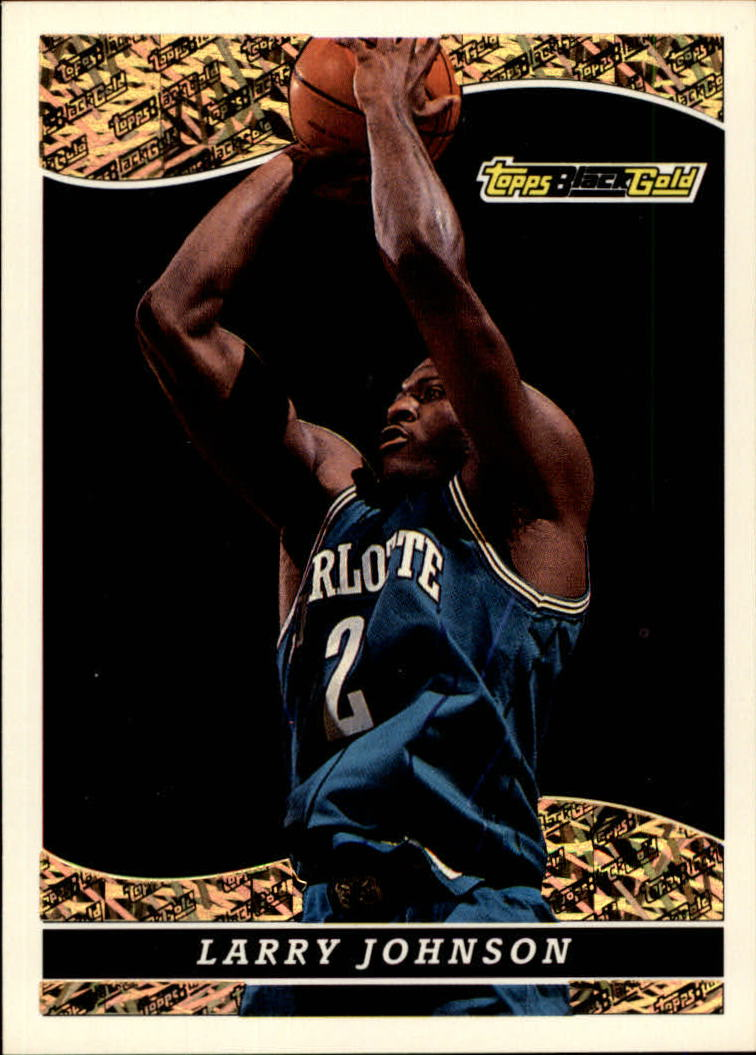 1993-94 Topps Black Gold #9 Larry Johnson
