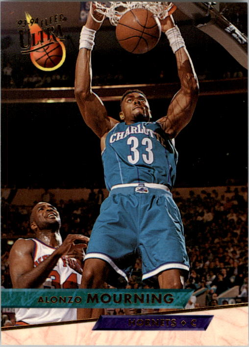 1993-94 Ultra #23 Alonzo Mourning